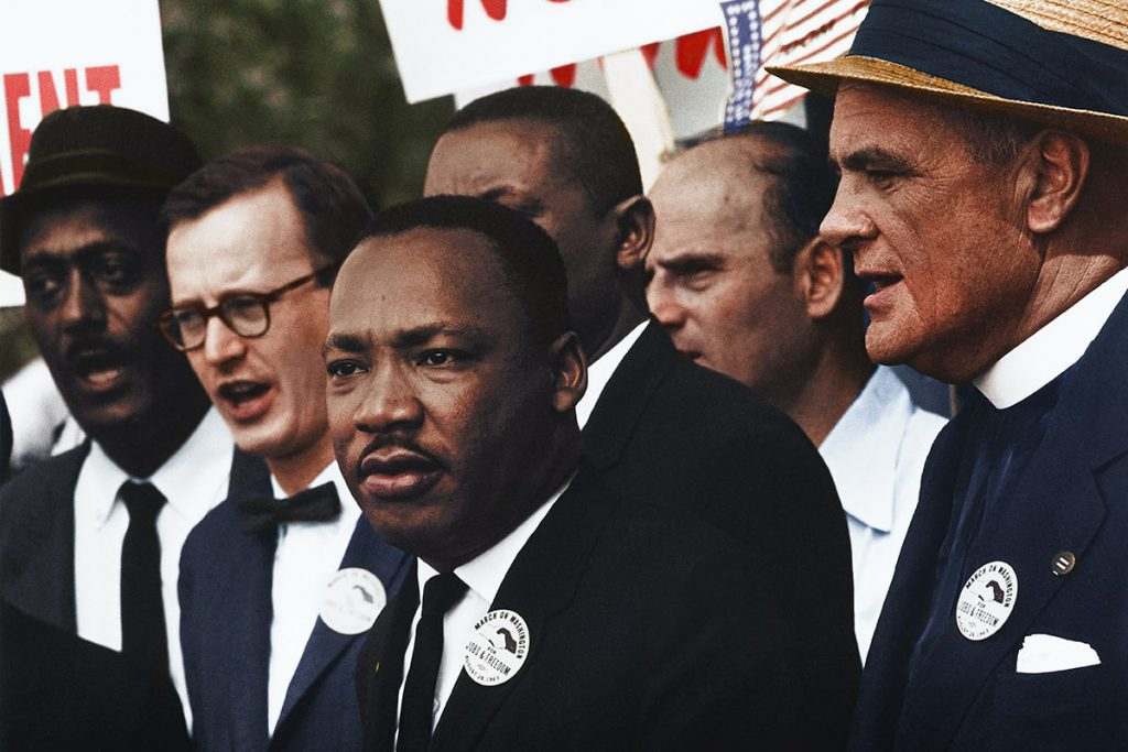 Martin Luther King Jr. Taalhulp Engels